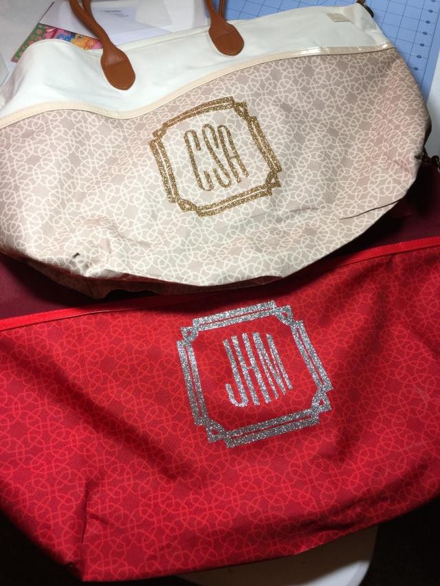 Monogramed Bags