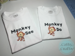 Monkey See Monkey Do Shirts