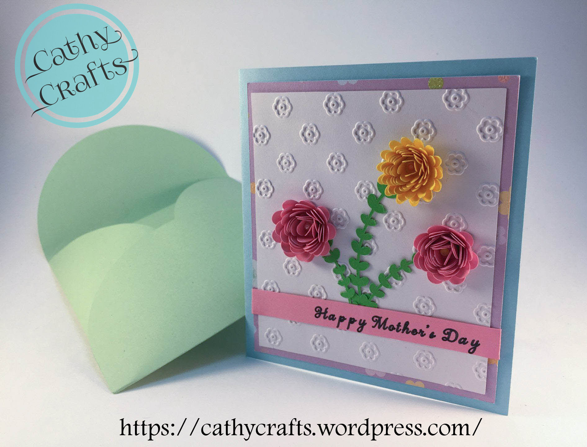 Mothers Day Card Cathy Crafts