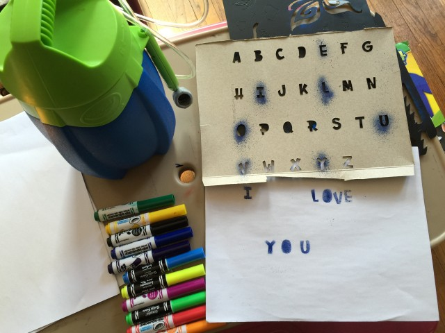 Easy Alphabet Template