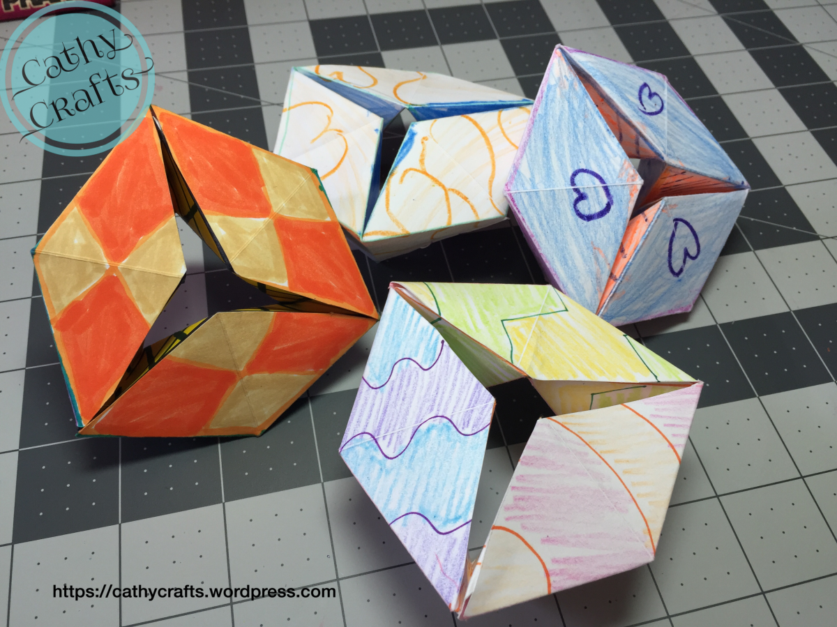 Flextangle Paper Toy
