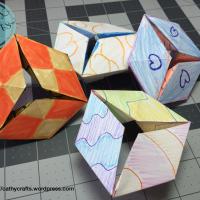 Flextangle Paper Toy