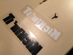 Kickinit Vinyl Pieces