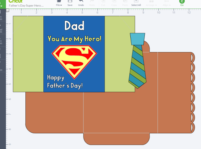 Father's Day Super Hero Design Space