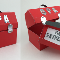 Father's Day 3D Toolbox Card