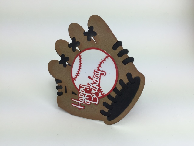 Baseball Birthday Card