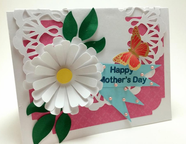 Big Daisy Mother's Day Card