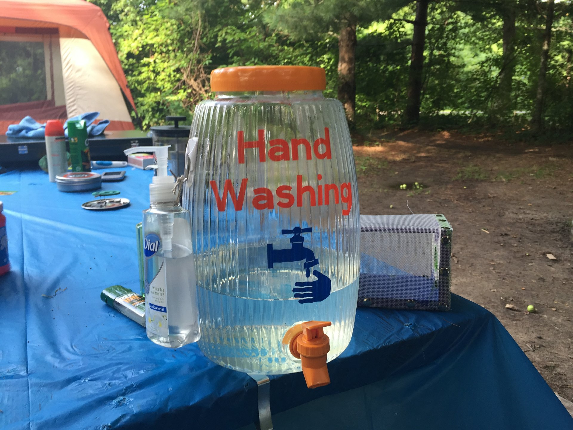 Camping Hand Washing Station – Cathy Crafts