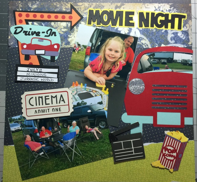 Drive In Scrap Page
