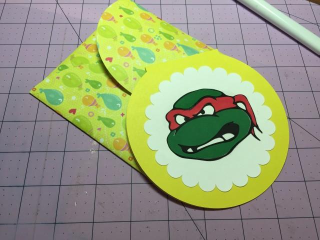 Ninja Turtle Card