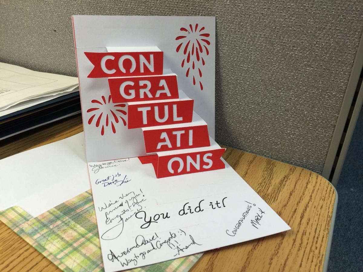 Congratulations Card Cathy Crafts