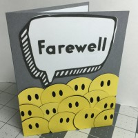 Farewell From Group Card