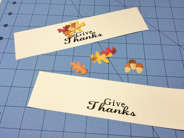 Thanksgiving Silverware Holder