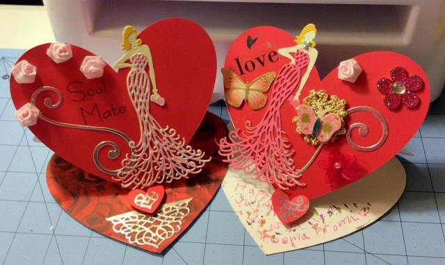 Heart Easel Cards