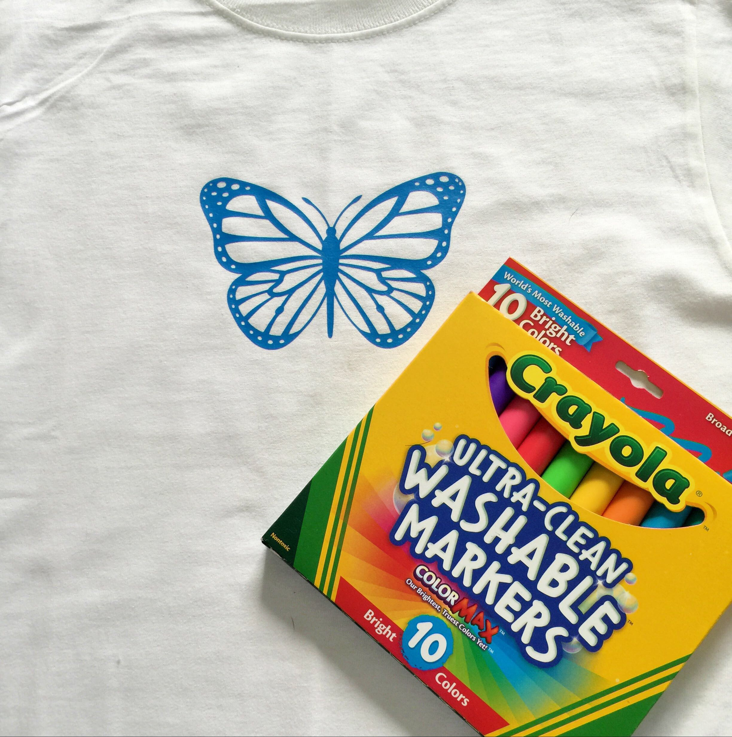 Color Your Own T-shirt – Cathy Crafts