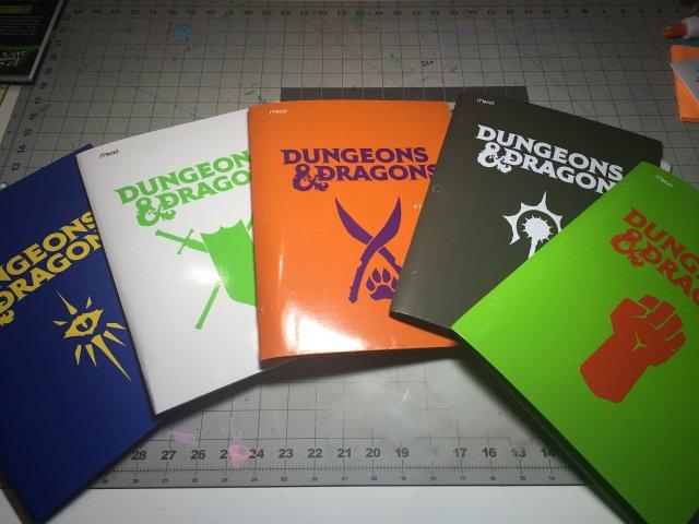 DnD Folders