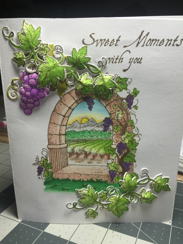 Vine and Archway Card
