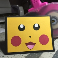 Pikachu Pop-Up Pokéball Card