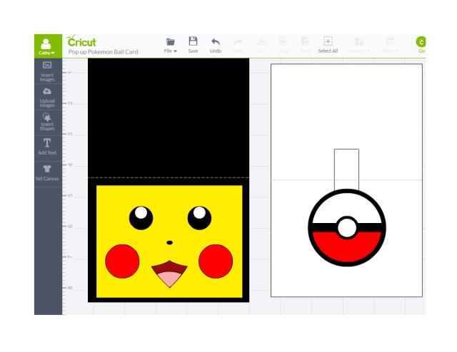 Pikachu Pop Up Pokball Card Cathy Crafts