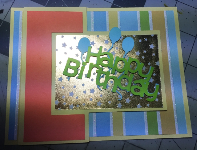Birthday Fun Fold Card